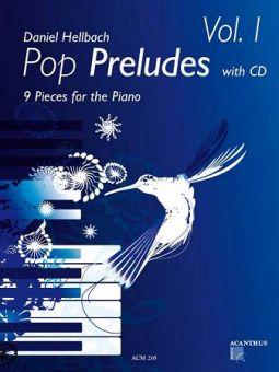 Hellbach, Pop Preludes 1 - Klavier