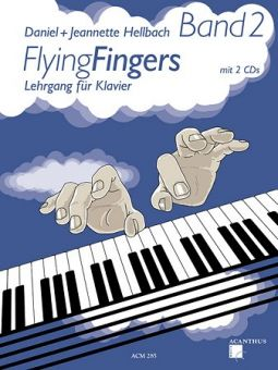 Hellbach, Flying Fingers 2 - Klavierschule