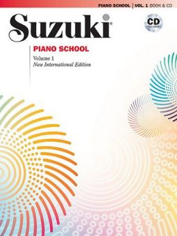 Suzuki Piano School Vol. 1 + CD