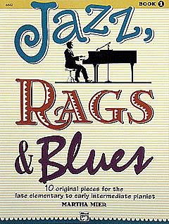 Mier, Jazz, Rags & Blues 1 - für Klavier