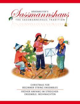 Früher Anfang im Streicherensemble: Weihnachten