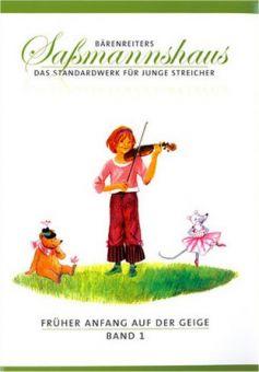 Saßmannshaus, Früher Anfang auf der Geige 1