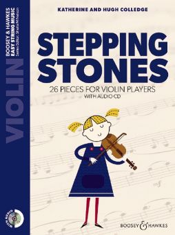 Colledge, Stepping Stones - Violine + CD