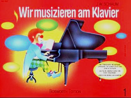 Schaum, Wir musizieren am Klavier 1