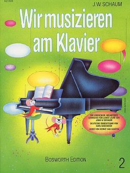 Schaum, Wir musizieren am Klavier 2