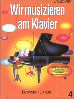 Schaum, Wir musizieren am Klavier 4