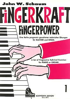 Schaum, Fingerkraft