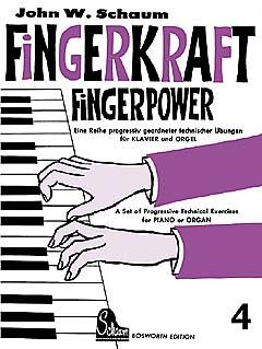 Schaum, Fingerkraft 4