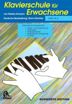 Schaum, Klavierschule für Erwachsene 3 + 4