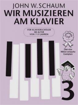 Schaum, Wir musizieren am Klavier 3 neu