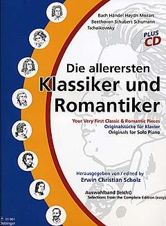 Die allerersten Klassiker und Romantiker - Klavier