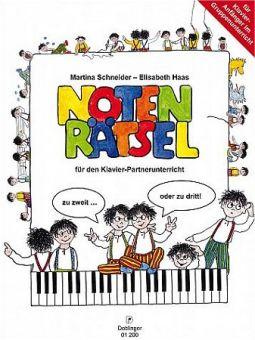 Notenrätsel mit Dobi / Klavier-Partnerunterricht