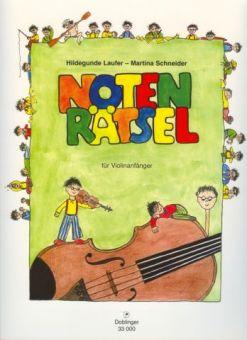 Notenrätsel mit Dobi / Violine