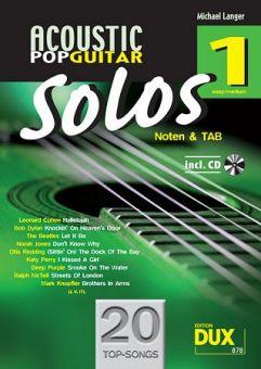 Langer, Acoustic Pop Guitar Solos 1