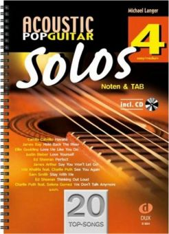 Langer, Acoustic Pop Guitar Solos 4