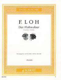 Der Flohwalzer - Noten für Klavier