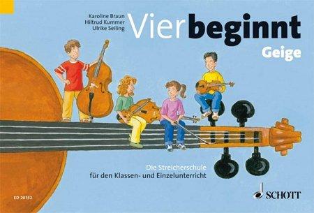 Vier beginnt - Geige