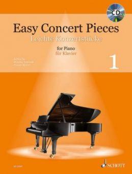 Easy Concert Pieces 1 - Klavier