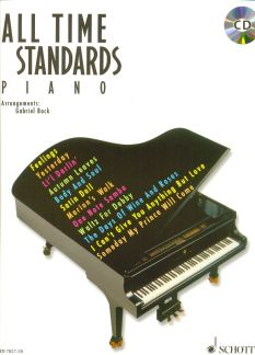 All Time Standards - Klavier