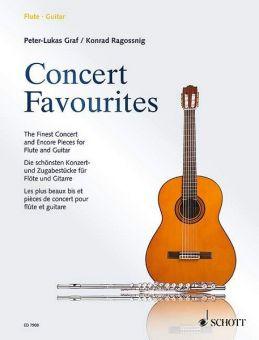 Concert Favourites für Flöte + Gitarre