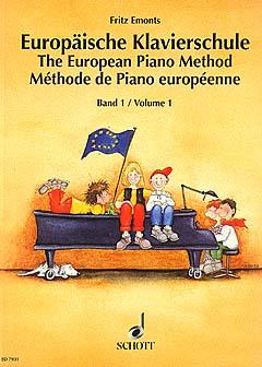 Emonts, Europäische Klavierschule 1