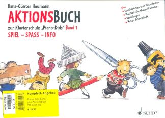 Heumann, Piano Kids 1 + Aktionsbuch 1