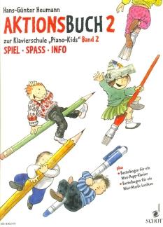 Heumann, Aktionsbuch 2 - Klavier