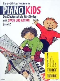 Heumann, Piano Kids 2 + Aktionsbuch 2