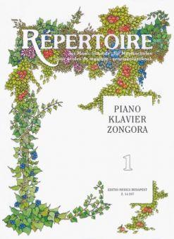 Repertoire für Musikschulen - Klavier 1