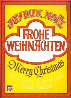 Peychaer, Frohe Weihnachten - Klavier