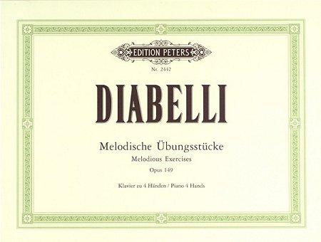 Diabelli, Melodische Übungsstücke op.149 - Klavier