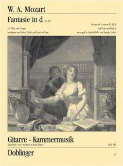 Mozart, Fantasie in d - Flöte + Gitarre