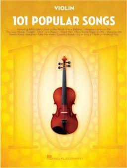 101 Popular Songs - Violin