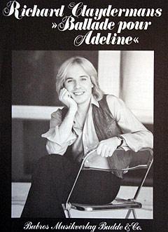 Ballade pour Adeline - Noten für Klavier