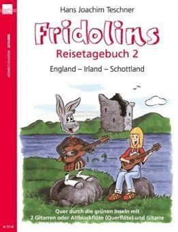 Teschner, Fridolins Reisetagebuch 2 - für Gitarre