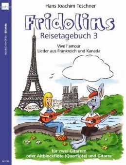 Teschner, Fridolins Reisetagebuch 3 - für Gitarre
