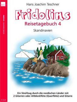 Teschner, Fridolins Reisetagebuch 4 - für Gitarre