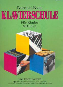 Bastien, Basis Klavierschule Stufe 3