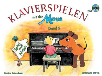 Klavierspielen mit der Maus 2 mit CD