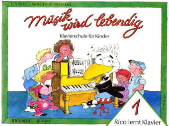 Rico lernt Klavier 1
