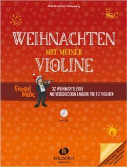 Weihnachten mit meiner Violine + CD