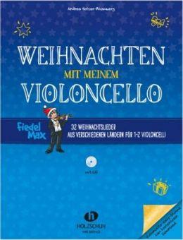 Weihnachten mit meinem Violoncello + CD