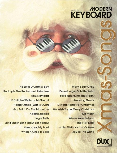 DUX 1028 Modern Keyboard Weihnachtslieder für Keyboard